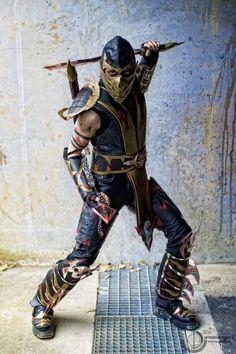 Scorpion (Mortal Kombat) ~ Cos Play