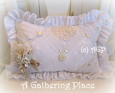 ~SHABBY COTTAGE CHIC CHAIR SKIRT MAKEOVER REVEAL~