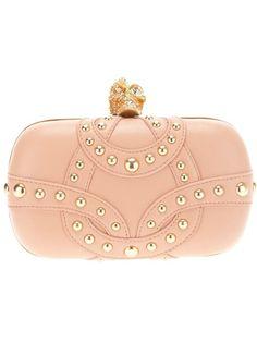 Alexander McQueen clutch bag