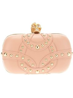 Alexander McQueen #handbag #purse #clutch