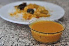 Goan Sorak Curry - A delicious quick Goan curry eaten during the monsoons when fish is not available.