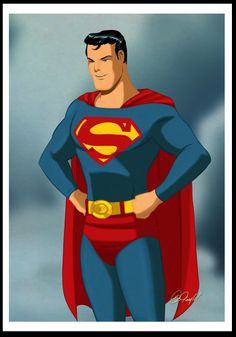 Classic Superman - by Des Taylor