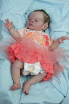 PROTOTYPE 'It's a Girl' by Tina Kewy Reborn Baby Girl doll | eBay