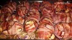 Tento recept je špecialitkou môjho manžela a jeho pôvodný názov v macedónčine je  Pileški  uvijači - ak by ste sa niekedy ocitli na Balkáne s radosťou vám ich ponúknu či už miestni  obyvatelia, alebo v reštaurácii. Pripravuje sa väčšinou na grile vonku v prírode-takto  pripravené mäso sa nazýva Skara, ale dá sa  pripraviť aj v domácich podmienkach tak  ako vám to ponúkam ja.