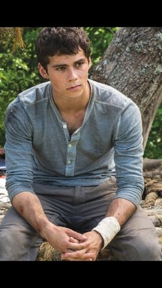 Dylan O'Brien as Thomas in The Maze Runner