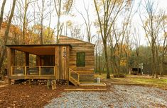 330 Sq. Ft. Tiny Cabin Near Asheville | Tiny House Talk | Bloglovin'