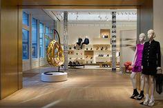 Peter Marino Louis Vuitton Store   Louis Vuitton store redesign by Peter Marino, New York City