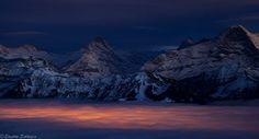 Schreckhorn, Eiger, #Switzerland via @photo_saga