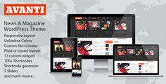 Avanti Mutlipurpose News & Magazine Theme (Blog / Magazine)