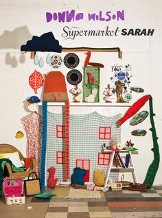 Donna Wilson with Supermarket Sarah