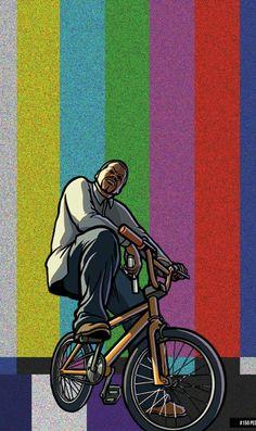 Wallpaper Animes, Pop Art Wallpaper, Trippy Wallpaper, Tumblr Wallpaper, Cartoon Wallpaper, Arte Do Hip Hop, Hip Hop Art, Dope Wallpapers, Gaming Wallpapers