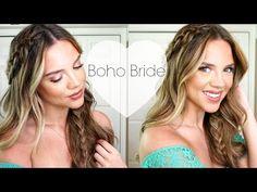 DIY Bride: Boho/Outside Wedding - YouTube