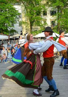 """Ljubljana, """"folk dance""""-Sept."""