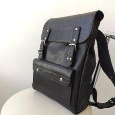 Handmade Leather backpack men women leather rucksack   Etsy Retro Backpack, Small Backpack, Men's Backpack, Leather Backpack For Men, Vintage Leather Backpack, Leather Backpacks, Leather Purses, Leather Bag, Handmade Leather