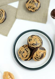Looking for a low-calorie dessert? Check out these 100 calorie peanut butter swirl brownies.