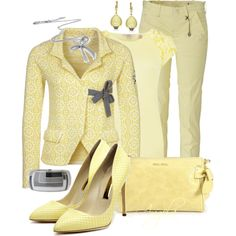 """Pale Sunshine"" by angela-l-s on Polyvore"