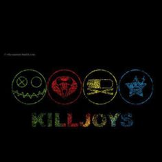 killjoys (fun ghoul, kobra kid, party poison, jet star) I want a different one of these tattooed on each arm and leg