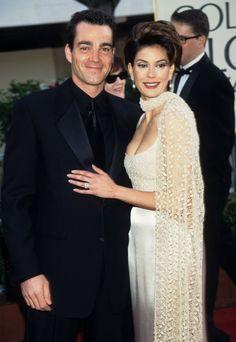 Celebrity Couples at the 1997 Golden Globe Awards | POPSUGAR Celebrity Photo 20...Jon Tenney & Teri Hatcher