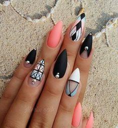 "974 Likes, 14 Comments - @merlin_nails on Instagram: "" #gel #gelnails #nail #nails #nailstagram #nailsofinstagram #notpolish #manicure #artnails…"""