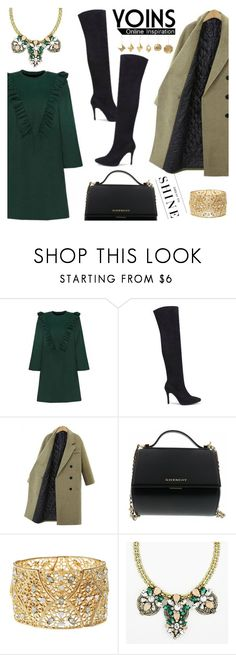 """""""Yoins 23"""" by kenguri on Polyvore featuring Givenchy, Charlotte Russe, Levi's, Jayson Home, women's clothing, women's fashion, women, female, woman and misses"""