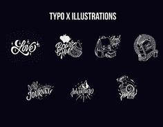 "Check out new work on my @Behance portfolio: ""Typo X Illustrations"" http://be.net/gallery/58176107/Typo-X-Illustrations"
