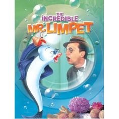 Incredible Mr Limpet - I loved this movie as a kid. I even named a kitten Mr. Limpet because he looked like Don Knotts! Old Movies, Great Movies, Awesome Movies, Funny Movies, Interesting Movies, Funniest Movies, Cartoon Movies, Love Movie, Movie Tv