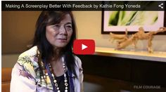Making A Screenplay Better With Feedback by Kathie Fong Yoneda at #StoryExpo 2014 via http://filmcourage.com/   For more videos, please visit https://www.youtube.com/user/filmcourage  #writingtips #script #screenplaywriting #womenwriters #screenwritingtips #screenwritingadvice