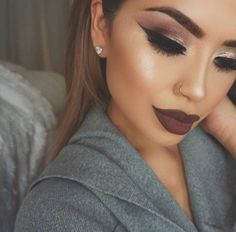 Makeup Obsessed! - expensivetastexox:   Fall makeup