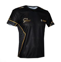 Fixgear Wolf Printed B?dminton Deportes Camisetas For Hombre Black Top