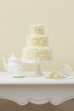 Bolo de casamento de coco. #casamento #bolodosnoivos