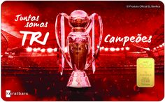 Karatbars Tarjeta De Benfica Lissabon Con Lingote De Oro 1Gramo 24kt Lingotes De Oro Puro En Cantidades Pequeños De Karatbars Internacional. http://www.oportunidaddeoro.es Ahorra En Oro! Pida el suyo ya...más información en  +34644779968 - Consulta Global Instantánea (Móvil/Whatsapp)! #karatbars #lingotesdeoro #benfica #oro999