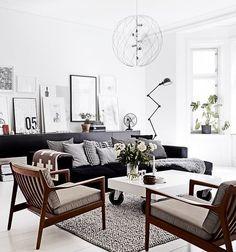 Tipp: Wohnzimmer einrichten - cool, gemütlich und praktisch - das geht – NØRD Scandinavian Design