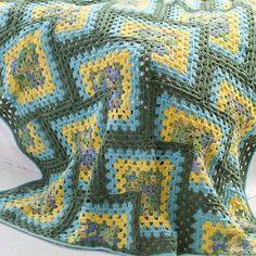 Crochet For Children: Tiles Granny Afghan - Free Pattern