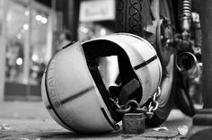 Saturday Snapshots: Annie Dillard on Crash Helmets and Waking Gods - http://ofdustandkings.com/ss-crash-helmet/