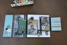 Un mini et sa boîte...Belle idée de SCRAPLYNE  d'après une création de SANDRA CHARBONNEL: http://scraplyne.over-blog.com/un-mini-et-sa-bo%C3%AEte