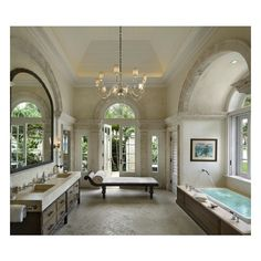 Portfolio Dering Hall found on Polyvore featuring bathrooms, rooms, pictures, casa and home