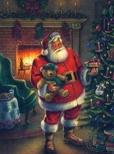 Weihnachtsbilder Klassisch.Die 1508 Besten Bilder Von Santa In 2019 Weihnachtsmann