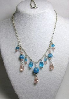 Ocean Blue Splender - Jewelry creation by Linda Foust