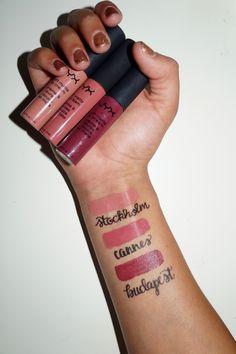 NYX soft matte lip cream #lipcolorsnyx