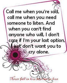 Call me everytime...