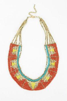 Tahiti Bib Necklace