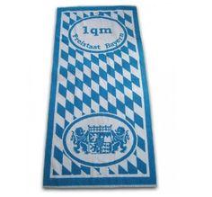 Handtuch - Strandtuch 1 Quadratmeter Bayern #Bayern #Style