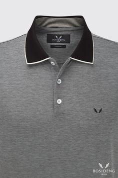 Polo Shirt Design, Sweater Design, Mens Polo T Shirts, Boys Shirts, Camisa Polo, Stylish Mens Fashion, Men's Fashion, Le Polo, Men Design