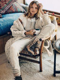 Magdalena Frackowiak wears Dungarees for lookbook photoshoot