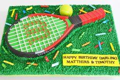 tennis racket cake - Google Search