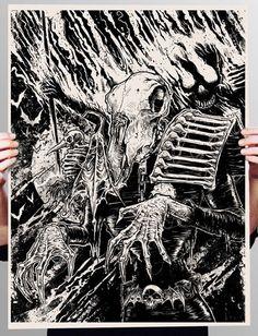 STREETS OF BEIGE: 'StarScan: Dark Judges, Fire and Mortis' by GODMACHINE
