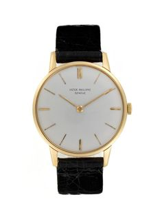 Vintage Watches Patek Philippe 18k Yellow Gold Dress (c. 1960s) at Park & Bond