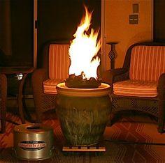 Amazon.com: Campfire In A Can Portable Propane Outdoor Fire Pit Patio Heater: Patio, Lawn & Garden