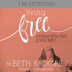 LifeWay Women All Access — Living Free Fall Online Bible Study | Sign Up