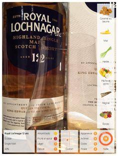 Le Royal Lochnagar 12 ans. Au nez, on distingue des arômes caramel au beurre, de miel et de délicates notes herbeuses. En bouche, on découvre des saveurs de miel accompagnées d'une légère fraîcheur de poire et de pêche, d'une touche de réglisse et d'une pointe épicée. La finale comporte des notes d'orge et de vanille.